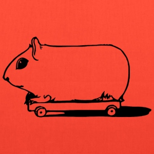 Pig on Wheels - Tote Bag