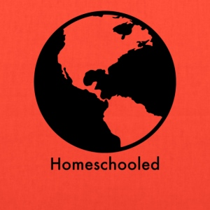 HomeSchooled - Black and White World - Tote Bag