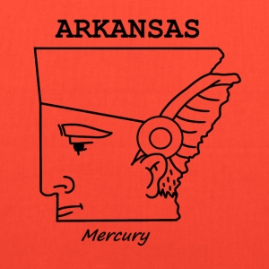 A funny map of Arkansas - Tote Bag