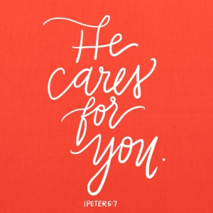 He Cares For You - Tote Bag