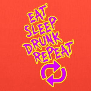 Eat Sleep Drunk Repeat - Tote Bag