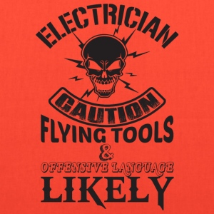 Electrician Dad T Shirt - Tote Bag