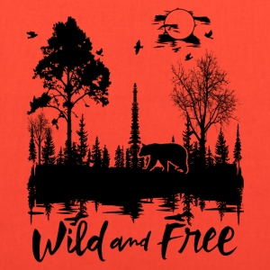 Wild and Free Products - Tote Bag