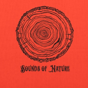 sounds of nature tee - Tote Bag