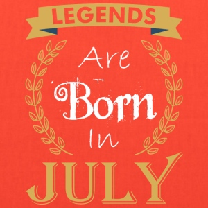 Legend Are Born In July - Tote Bag