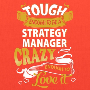 Touch enough to be a Strategy Manager - Tote Bag