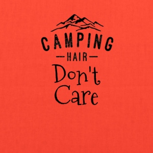 Camping Hair Don't Care - Tote Bag