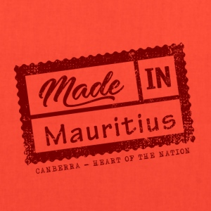 Stamp Made in Mauritius - Canberra - Tote Bag