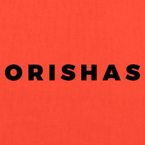 Orishas (Medium Black Letters) - Tote Bag
