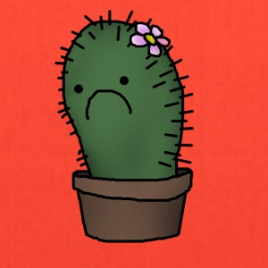 sad cactus - Tote Bag