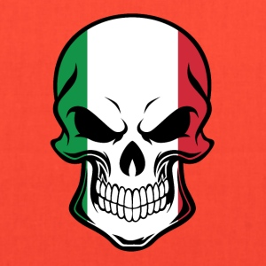 Italian Flag Skull - Tote Bag