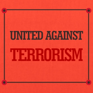 United against terrorism - Tote Bag