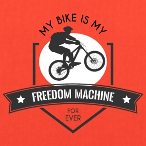 My bike is my freedom machine - Tote Bag