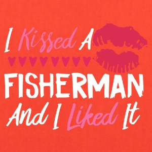 I KISSED A FISHERMAN SHIRT - Tote Bag