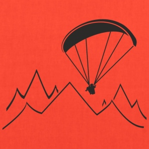 paragliding - Tote Bag