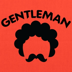 GENTLEMAN_curvy_black_2 - Tote Bag