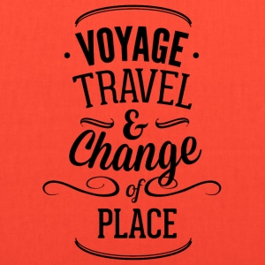 voyage_travel_ans_chnange_the_place-01 - Tote Bag