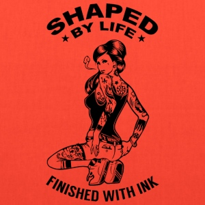 Shaped by Life, Finished with Ink - Tote Bag