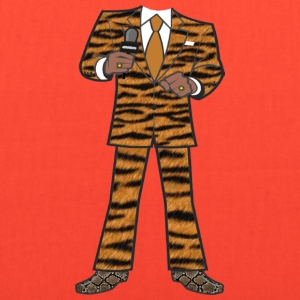 The Tiger Suit - Tote Bag