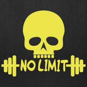 No Limit / Bodybuilding / Skull - Tote Bag