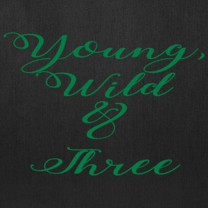 Young Wild Three - Tote Bag