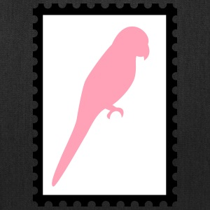stamp with parrot - Tote Bag