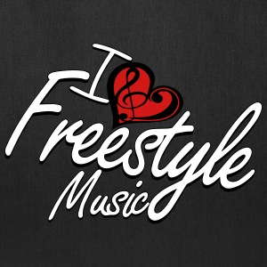 I love Freestyle Music - Tote Bag