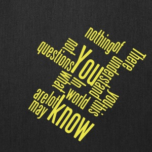 You know what typo - Tote Bag
