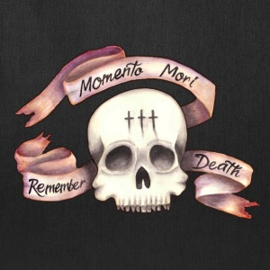 Momento Mori - Remember Death - Tote Bag