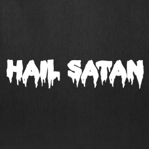 Hail Satan Dripping Text - Tote Bag