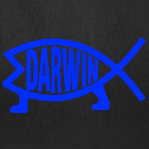 Original Darwin Fish (Navy) - Tote Bag