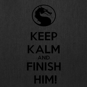 Keep kalm and finish him tshirt - Tote Bag