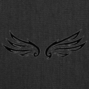 Storm Angel Wings (Small) - Tote Bag