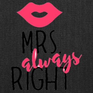 Mrs. always Right - Tote Bag