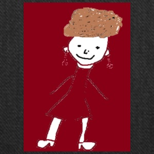 Little Girl Character T-Shirt - Tote Bag