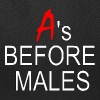 A's Before Males - Tote Bag