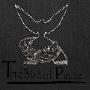 White Dove for Peace - Tote Bag