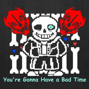 Undertale Sans Bad Time Game Funny - Tote Bag