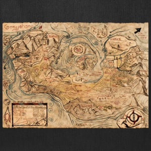 The continent of Greyshore - Tote Bag