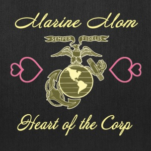 Proud Mom of a US Marines - Tote Bag