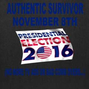 Authentic Survivor November 8th Election - Tote Bag