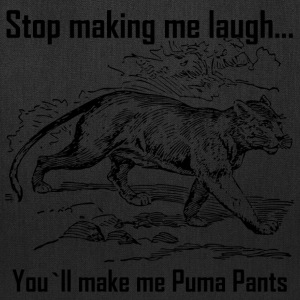 Stop Making me Laugh - Tote Bag