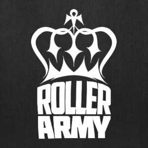Roller Army Logo White - Tote Bag
