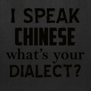 CHINESE dialect - Tote Bag