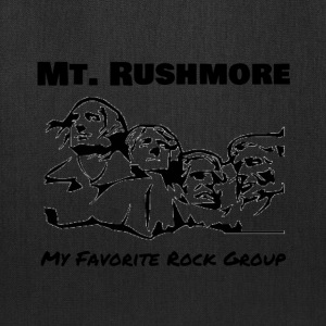 Mt. Rushmore - Rock Group - Tote Bag