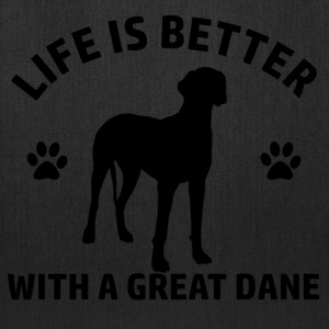 great dane design - Tote Bag