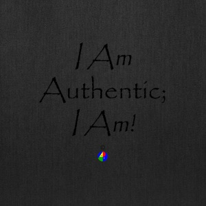I_Am_Authentic_light - Tote Bag