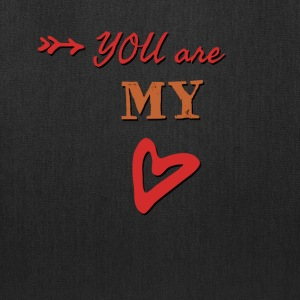 You are my heart - Tote Bag