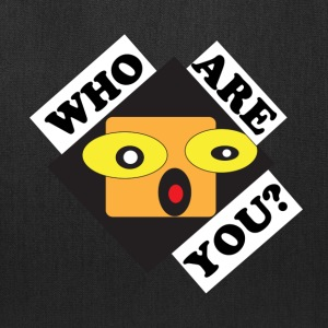 EYER- Who Are You? - Tote Bag