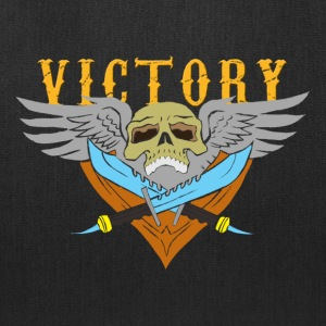 VICTORY Flying Skull - Tote Bag